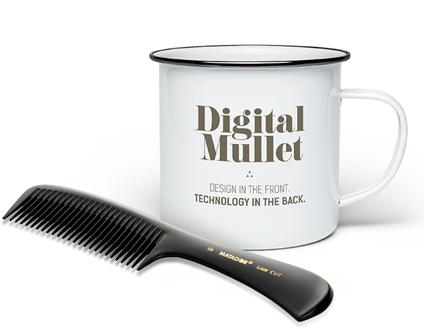 Digital Mullet Cup